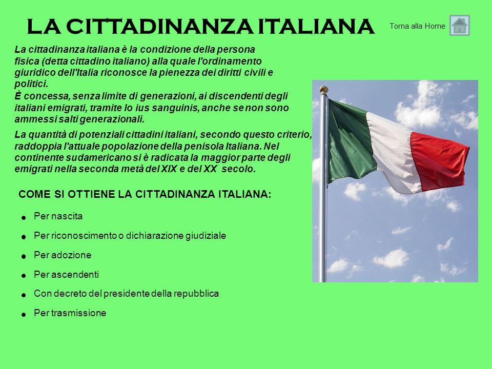 La cittadinanza italiana è la condizione della persona fisica (detta cittadino italiano) alla quale l'ordinamento giuridico dell'Italia riconosce la p