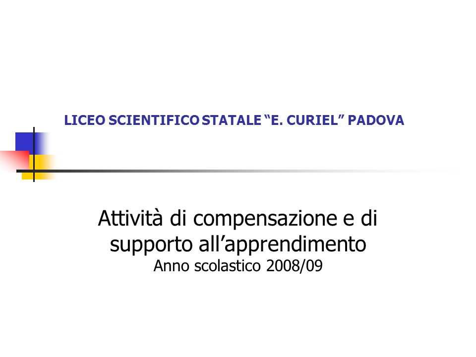 LICEO SCIENTIFICO STATALE E.