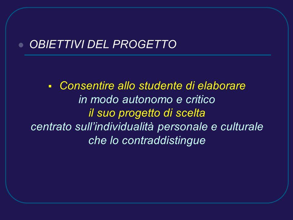 INCONTRI TEMATICI (di carattere generale) La riforma del mondo universitario Curricula universitari e professionalità emergenti Orientamento e autorientamento Le potenzialità e gli ostacoli alla scelta