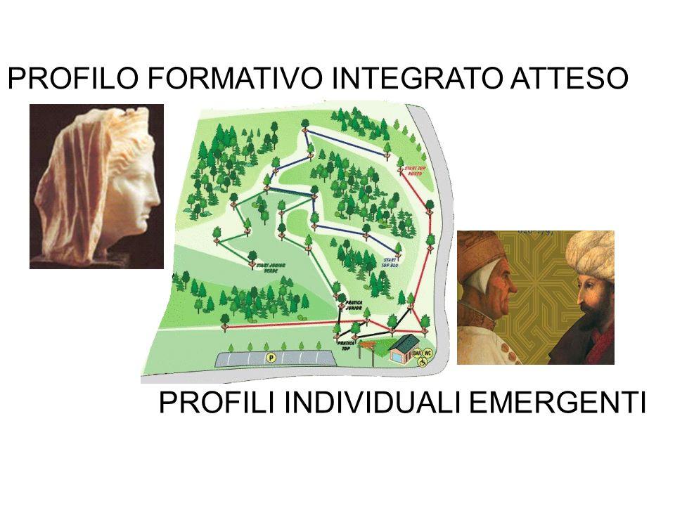 PROFILO FORMATIVO INTEGRATO ATTESO PROFILI INDIVIDUALI EMERGENTI
