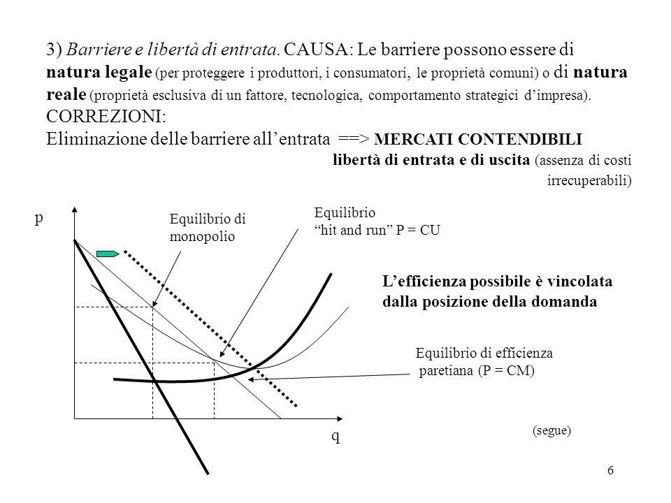 17 CORREZIONI: Lo SB deve gestire il fine tuning della domanda agregata Se Y* è la produzione che elimina tutta la disoccupazione keynesiana ( dalla disoccupazione classica, di lungo periodo) S(Y*) I* se S(Y) I < I* quindi Y < Y* comporta disoccupazione se S(Y) I > I* quindi Y domandato > Y* comporta inflazione Nel primo caso lo SB deve aumentare la domanda effettiva: direttamente con la spesa pubblica G = I* - I (politica fiscale), o indirettamente I I* (politica monetaria) Nel secondo caso lo SB deve ridurre la domanda effettiva: direttamente (riducendo la spesa pubblica) o indirettamente (aumentando le imposte)