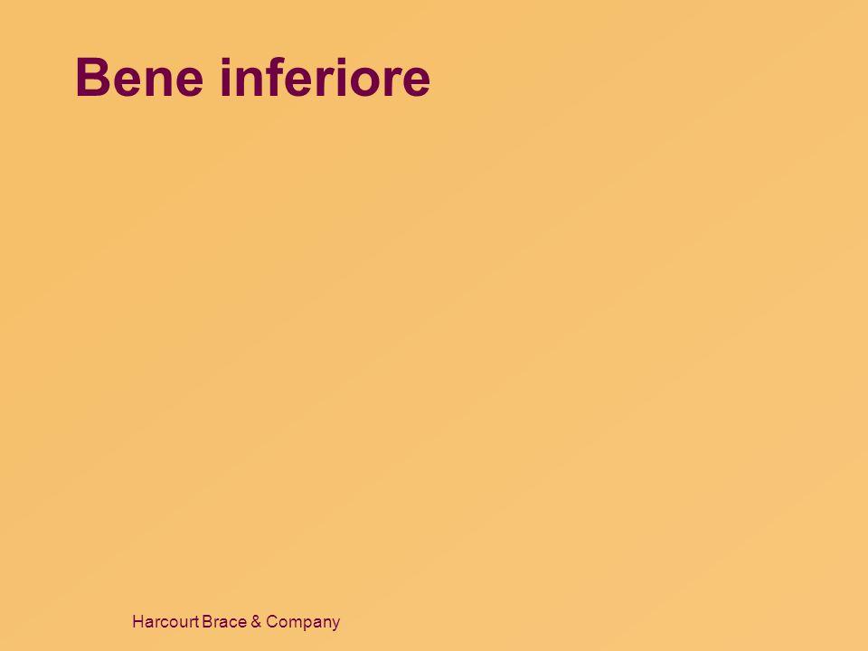 Harcourt Brace & Company Bene inferiore