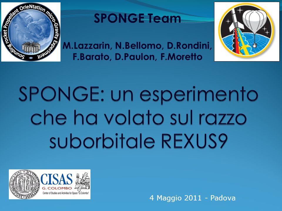 Padova, 4 Maggio 2011 12/18 SED: Student Experiment Document 1.Documento riassuntivo dellesperimento.