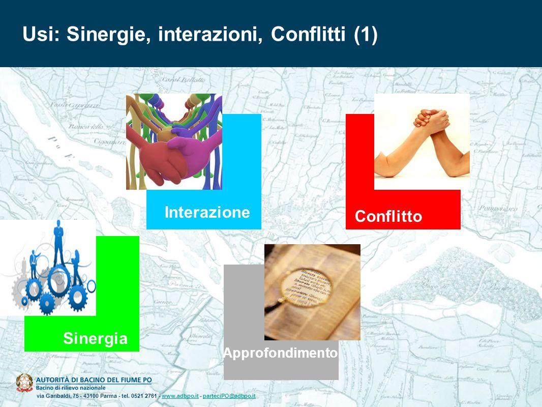 via Garibaldi, 75 - 43100 Parma - tel. 0521 2761 - www.adbpo.it - parteciPO@adbpo.itwww.adbpo.itparteciPO@adbpo.it Usi: Sinergie, interazioni, Conflit