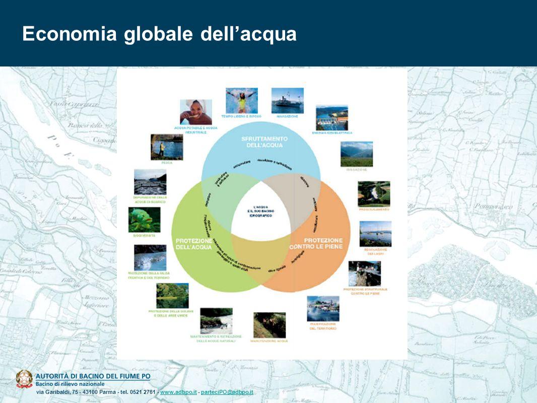 via Garibaldi, 75 - 43100 Parma - tel. 0521 2761 - www.adbpo.it - parteciPO@adbpo.itwww.adbpo.itparteciPO@adbpo.it Economia globale dellacqua