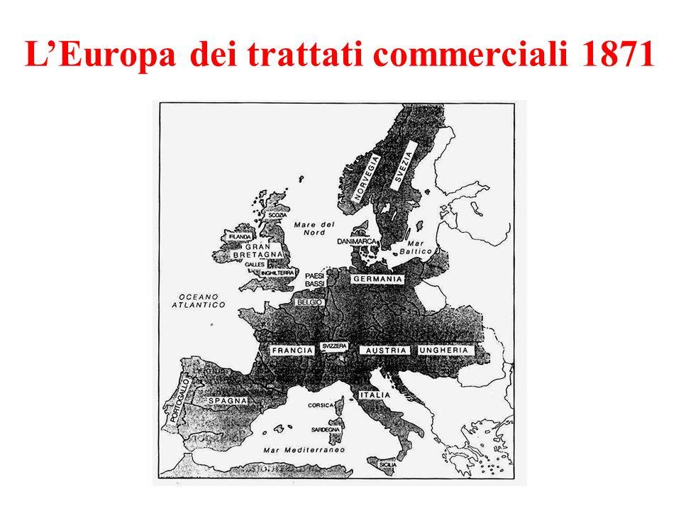 LEuropa dei trattati commerciali 1871