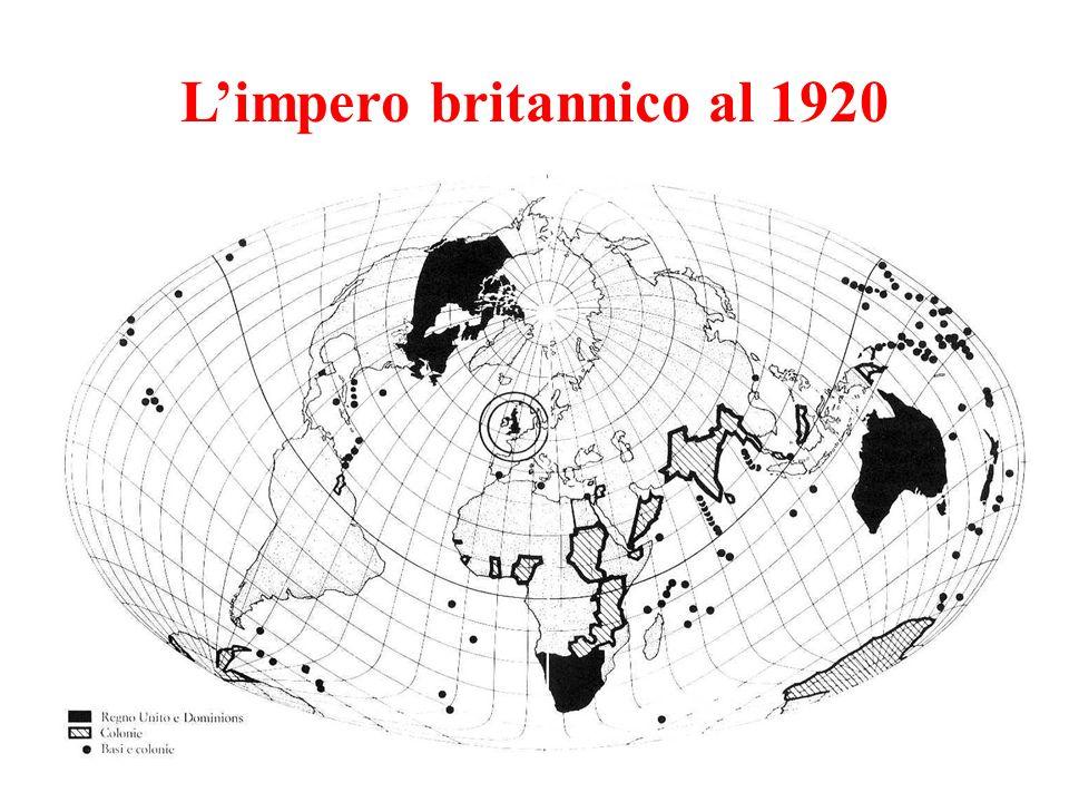 Limpero britannico al 1920