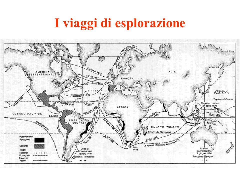 I viaggi di esplorazione