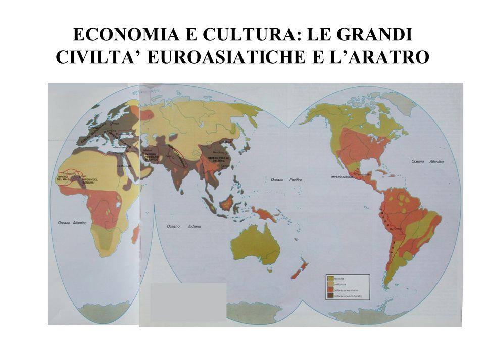 ECONOMIA E CULTURA: LE GRANDI CIVILTA EUROASIATICHE E LARATRO