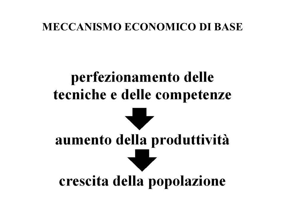 MECCANISMO ECONOMICO DI BASE
