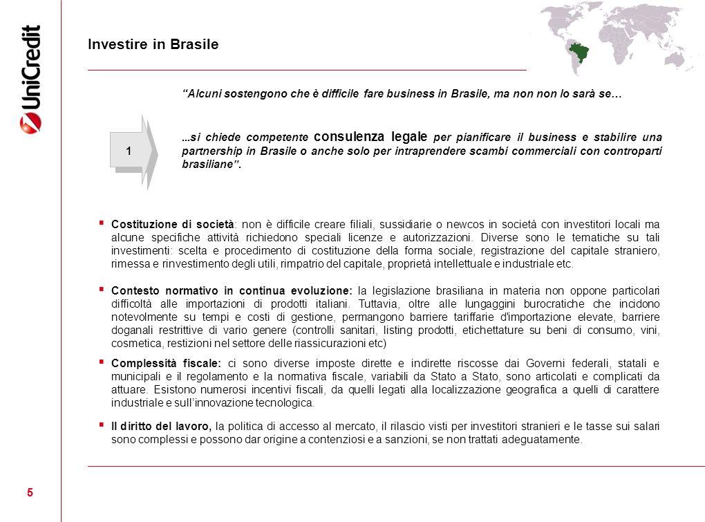 55 Alcuni sostengono che è difficile fare business in Brasile, ma non non lo sarà se…...si chiede competente consulenza legale per pianificare il busi