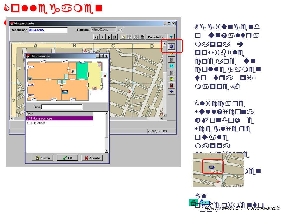 Advisor MASTER – Corso Avanzato Assegnare le icone 2 Cliccando sullicona scelta si aprirà una finesta che racchiude tutte le informazion i specifiche.