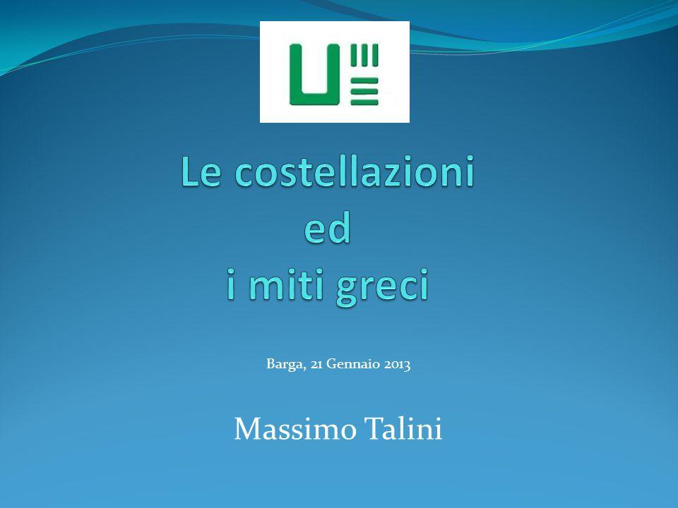 Barga, 21 Gennaio 2013 Massimo Talini
