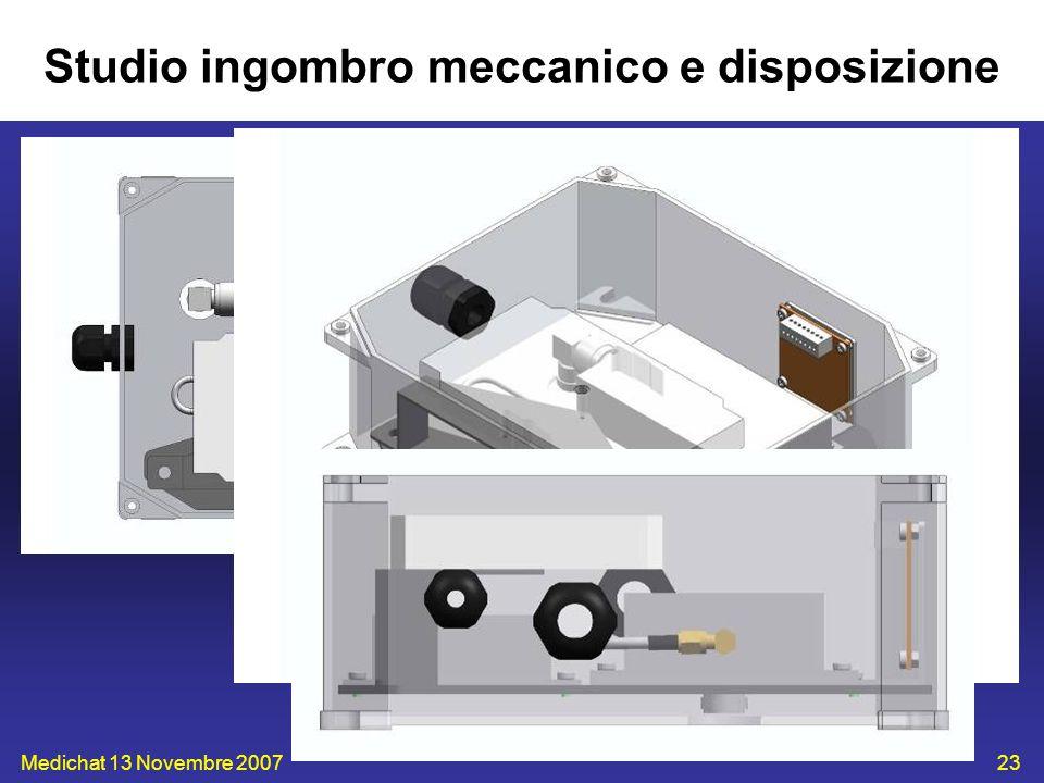 Medichat 13 Novembre 200723 Studio ingombro meccanico e disposizione