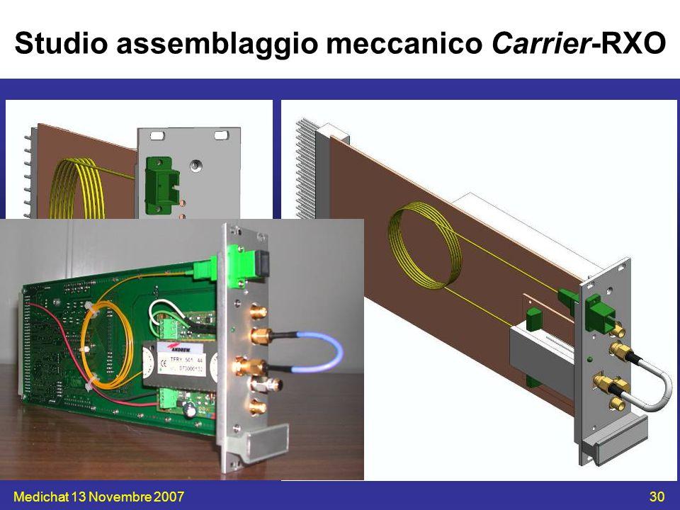 Medichat 13 Novembre 200730 Studio assemblaggio meccanico Carrier-RXO