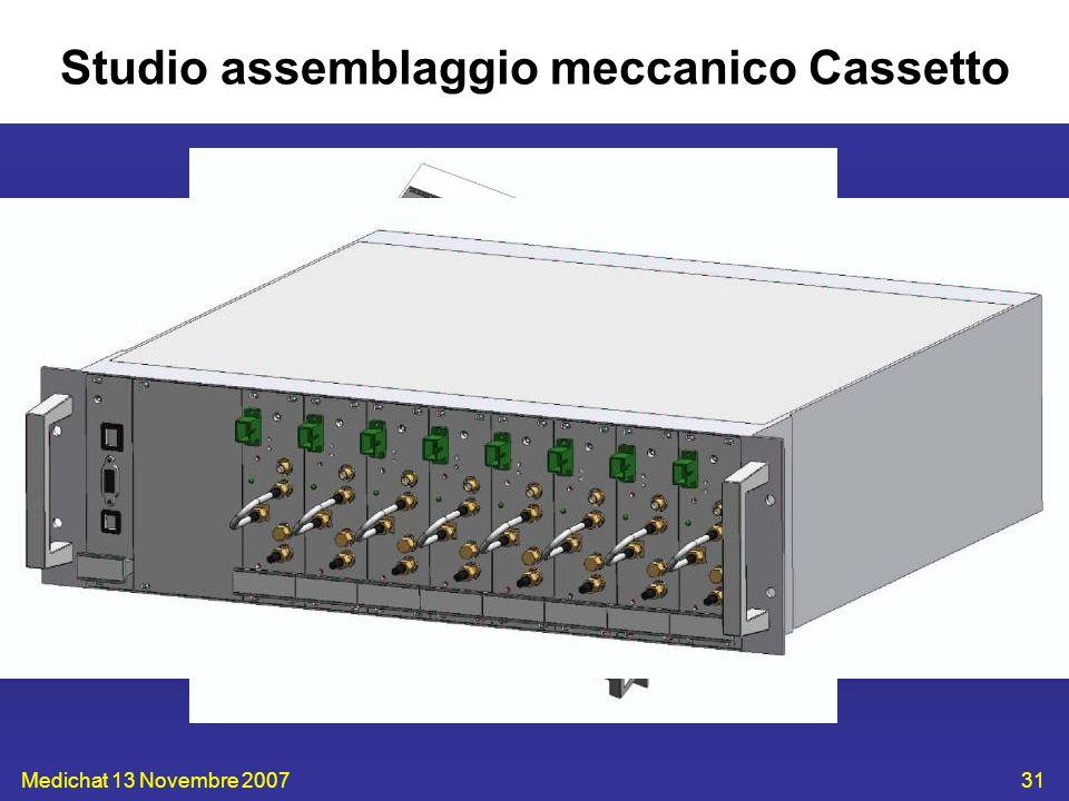 Medichat 13 Novembre 200731 Studio assemblaggio meccanico Cassetto