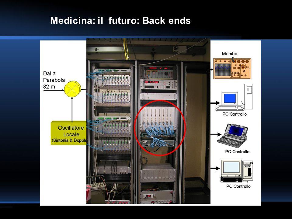 Medicina: il futuro: Back ends Elaborazione parallela: dominio delle frequenze e tempo