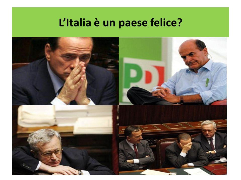 LItalia è un paese felice?