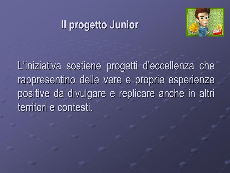 Il sito www.junior.venetosociale.it www.junior.venetosociale.it