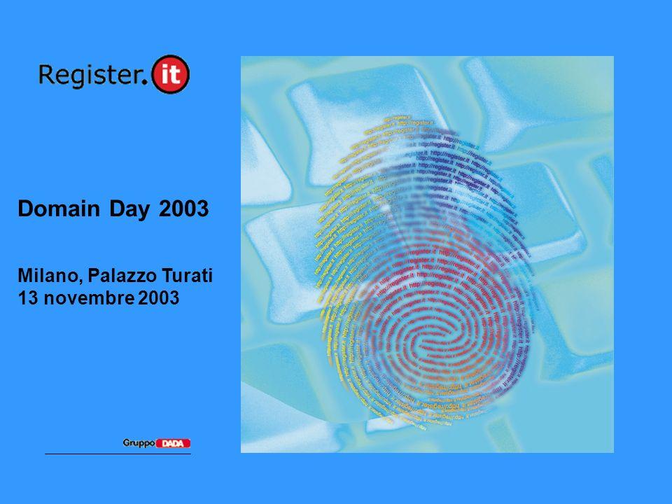 Domain Day 2003 Milano, Palazzo Turati 13 novembre 2003