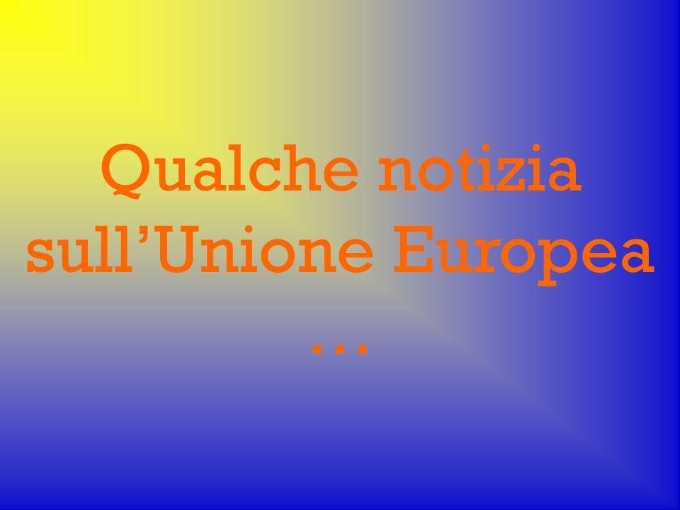 Dal trattato per la costituzione: Unione Europea