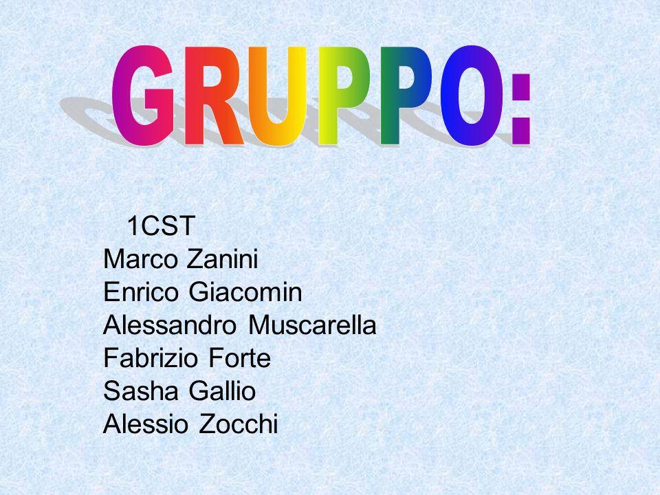 1CST Marco Zanini Enrico Giacomin Alessandro Muscarella Fabrizio Forte Sasha Gallio Alessio Zocchi