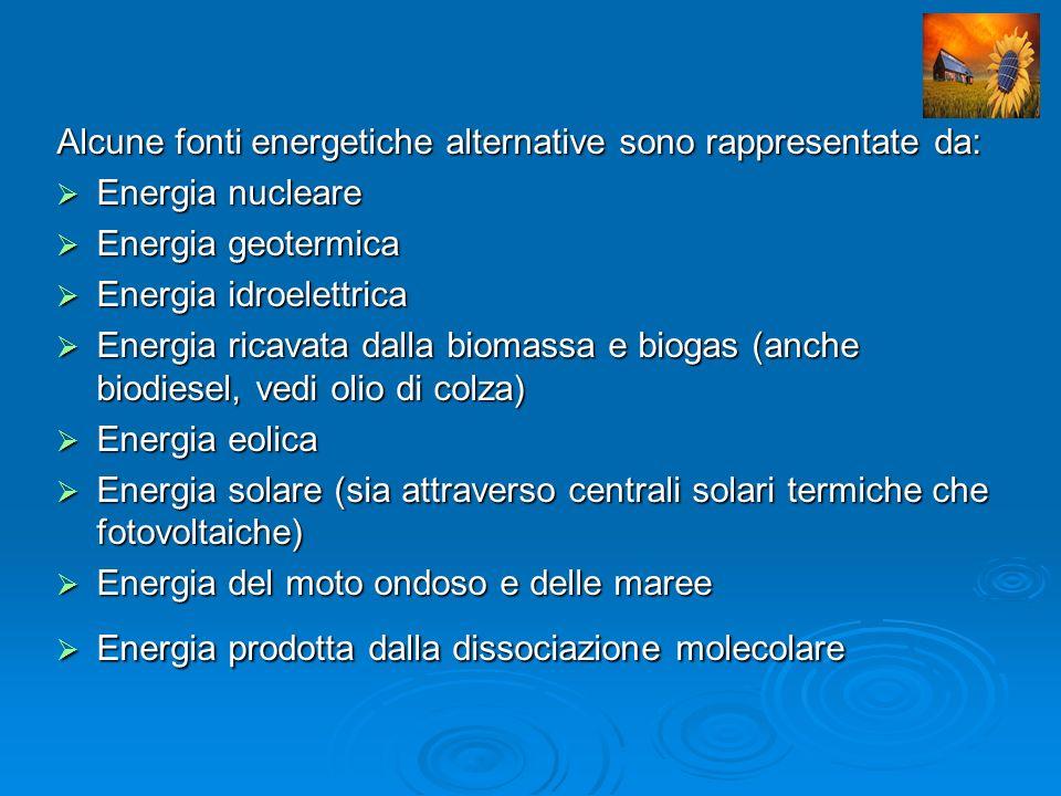 Energia solare Essa consiste nella produzione di energia termica o elettrica, sfruttando direttamente l energia irraggiata dal Sole (fonte rinnovabile) verso la Terra.