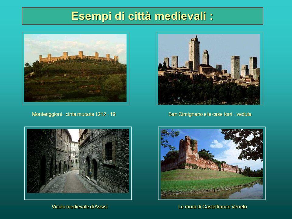 Pur mantenendo la sua struttura originaria, con zone separate riservate al potere civile e quello religioso, tra il 1100 ed il 1200 alcune città subir