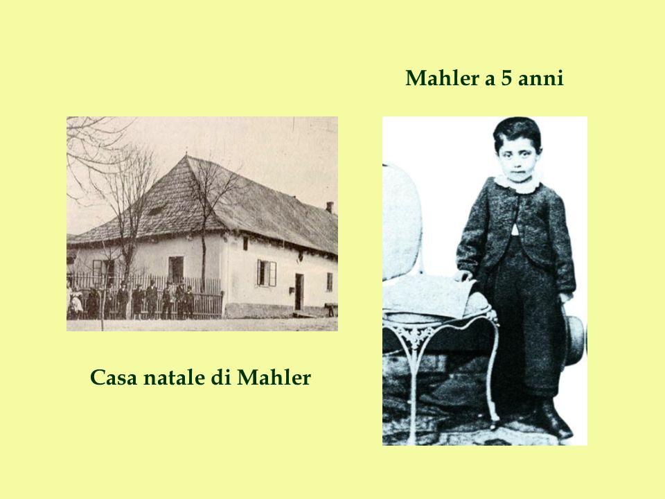 Mahler trascorre l infanzia a Iglau, dove la famiglia si era spostata.