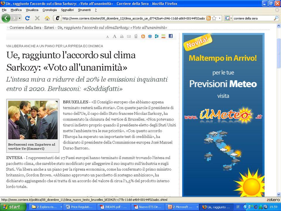 Stefano Balbi - PhD in Analysis and Governance of Sustainable Development 30/10/200917 … e i cittadini… Distanti e inconsapevoli.