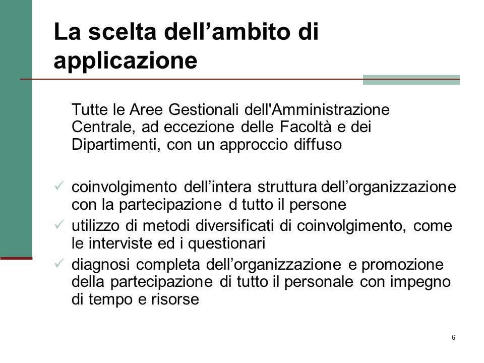 7 I risultati Il Processo di Autovalutazione ha consentito di: verificare la funzionalità dellorganizzazione evidenziare i punti di forza e le aree di criticità (per le quali sono state attivate opportune azioni di miglioramento).