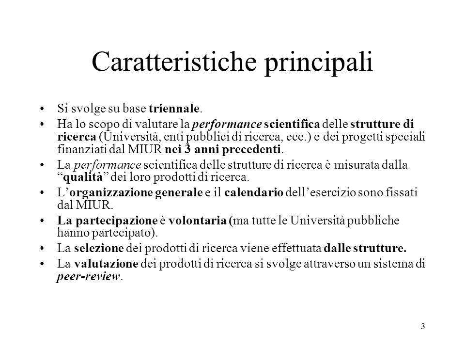 24 Affiliazione degli esperti esterni dellArea 13 ItalianaStranieraTotale Economia92 (55.8) 73 (44.2) 165 (100.0) Management30 (73.2) 11 (26.8) 41 (100.0) Matematica48 (64.9) 26 (35.1) 74 (100.0) Sociologia6 (85.7) 1 (14.3) 7 (100.0) TOTALE176 (61.3) 111 (38.7) 287 (100.0)