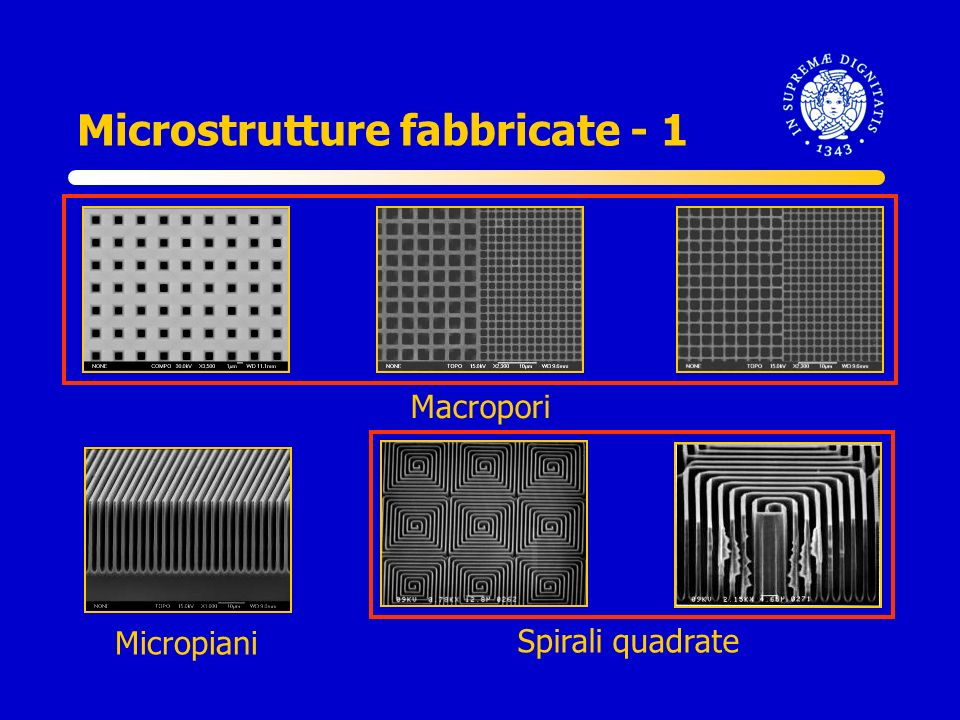 Chip Integration in BCD6 (1) Progetto del chip –Elettronica 3 amplificatori operazionali 1 amplificatore differenziale per strumentazione Tensione di riferimento (architetura band-gap) Sensore di temperatura (ΔV BE -based ) MOS di potenza da usare come riscaldatori –Sensori Matrice 2x4 di APSFET