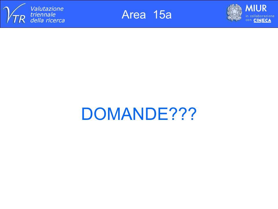 Area 15a DOMANDE