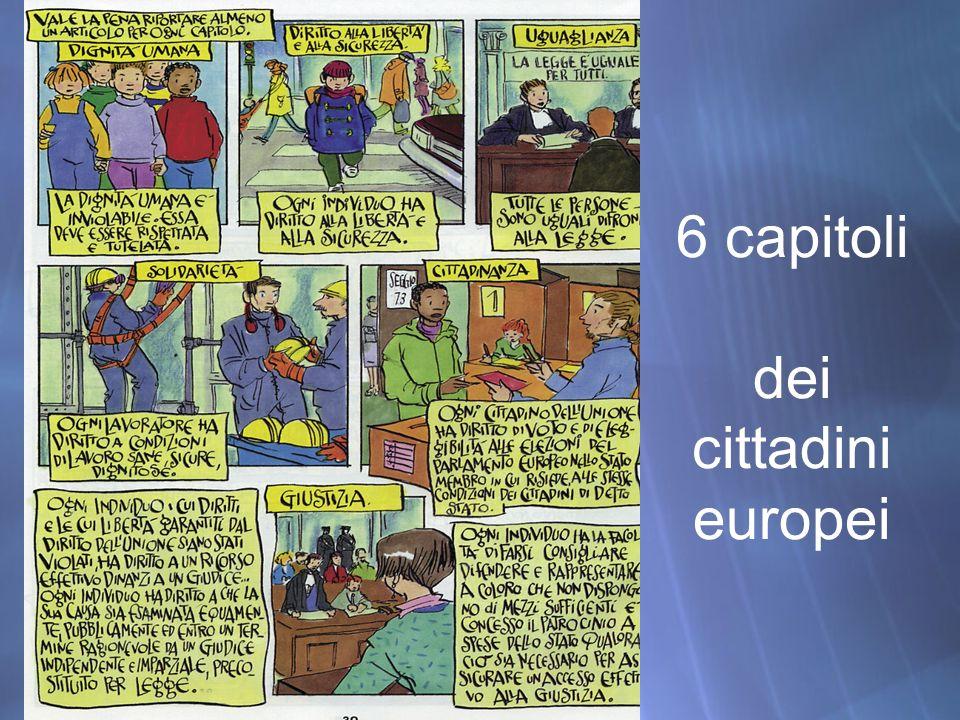 6 capitoli dei cittadini europei