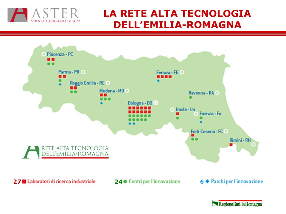 LA RETE ALTA TECNOLOGIA DELLEMILIA-ROMAGNA 27246