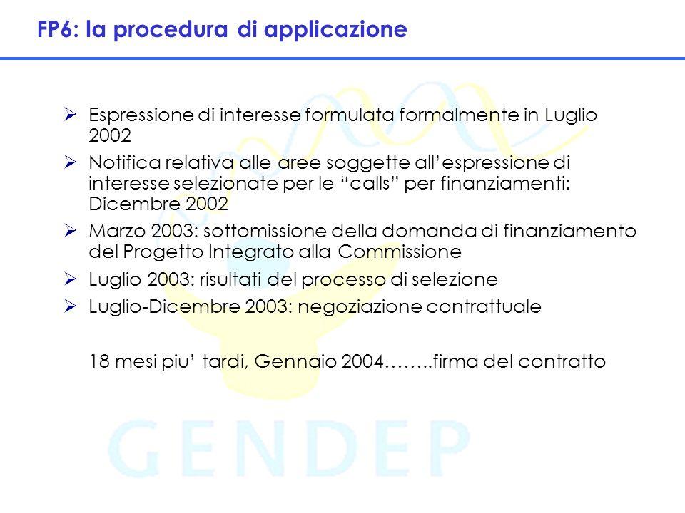9 Procedura di selezione: Evaluation Summary Report Proposal No.