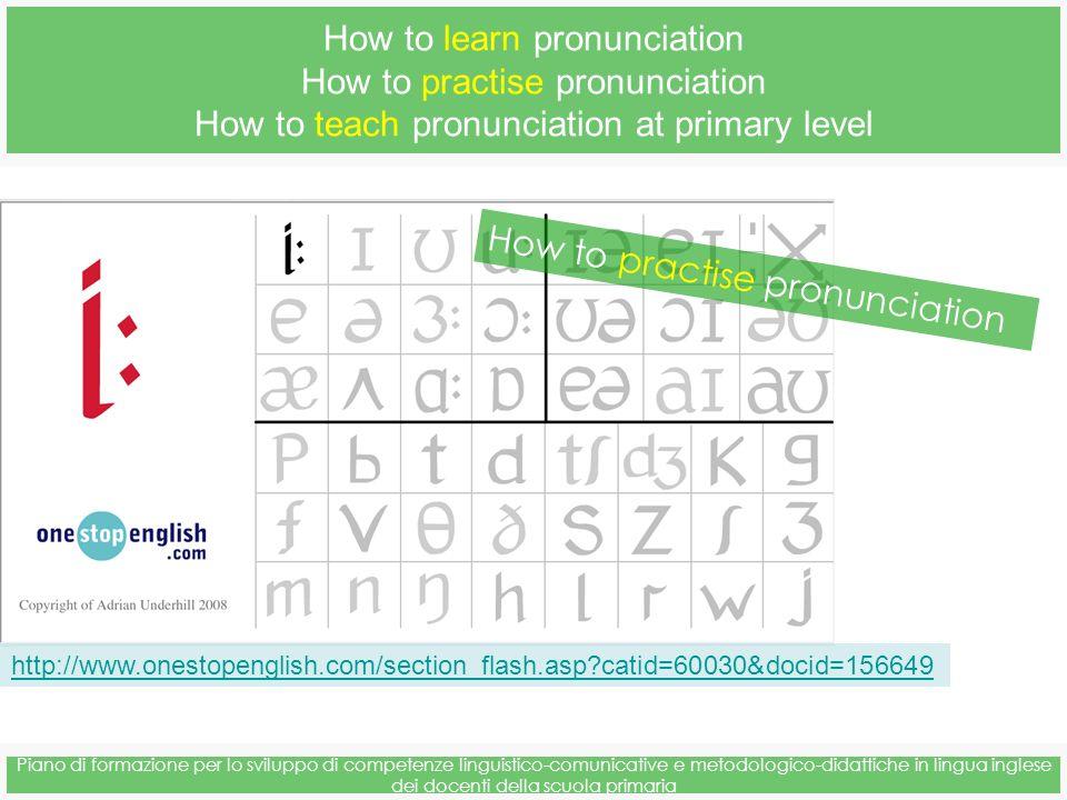 Piano di formazione per lo sviluppo di competenze linguistico-comunicative e metodologico-didattiche in lingua inglese dei docenti della scuola primar