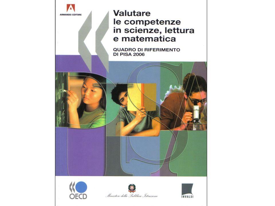 Macroaree italiane: Matematica - punteggi medi Fonte: Elaborazione USR-ER sulla base del dataset internazionale OCSE