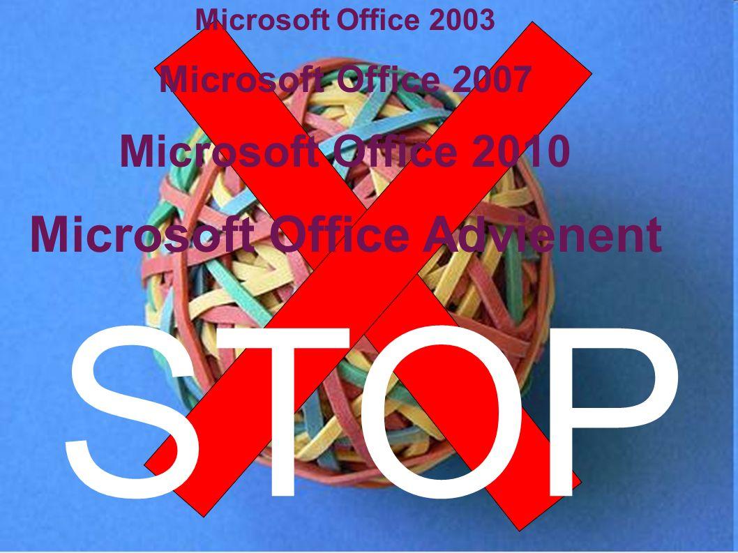 T.C.:AESD0001 Microsoft Office 2003 Microsoft Office 2007 Microsoft Office 2010 Microsoft Office Advienent STOP