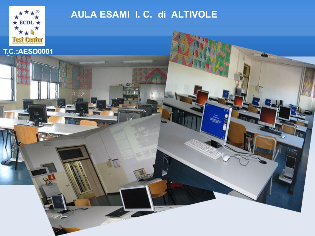 T.C.:AESD0001 AULA ESAMI I. C. di ALTIVOLE