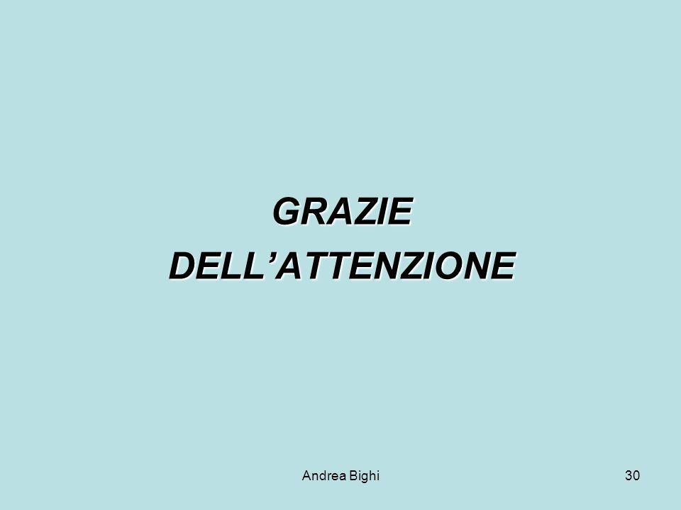 Andrea Bighi30 GRAZIEDELLATTENZIONE