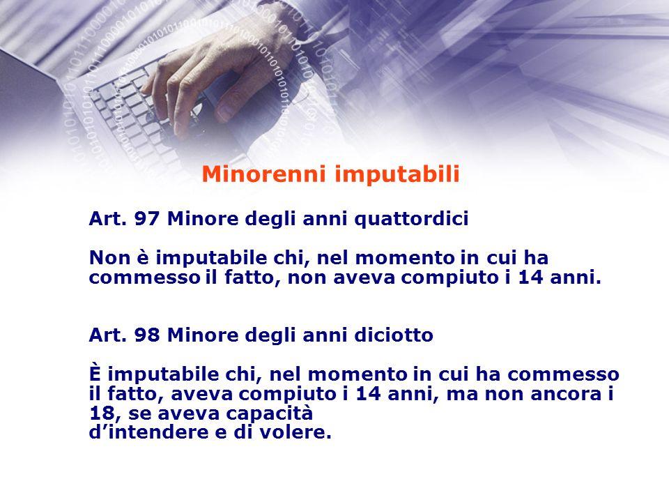 Possibili responsabilità penali - dell alunno (diretta) - del genitore (art.