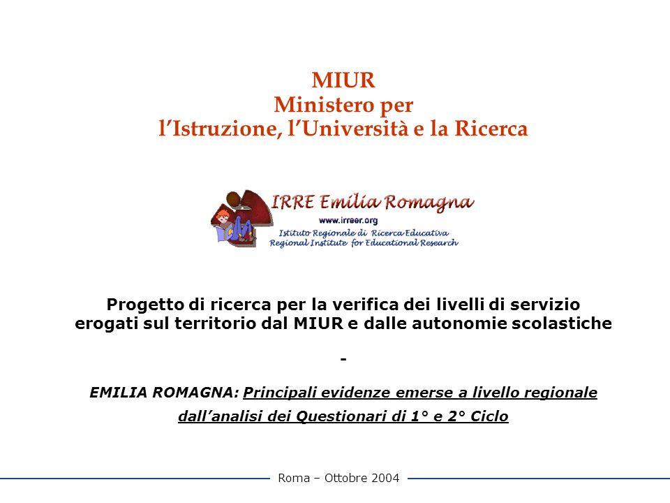 2 Indice 1.PREMESSA pag.3 2.LA RICERCA pag. 4 3.DETTAGLIO REGIONALE pag.