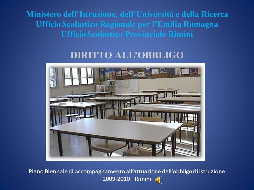 Ministero dellIstruzione, dellUniversità e della Ricerca Ufficio Scolastico Regionale per lEmilia Romagna Ufficio Scolastico Provinciale Rimini DIRITT