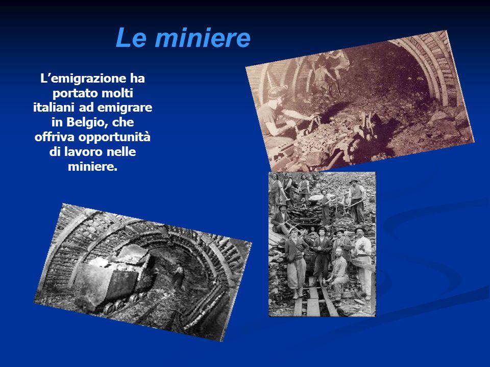 fu una catastrofe avvenuta la mattina dell 8 agosto 1956 in una miniera di carbone situata a Marcinelle, in Belgio.