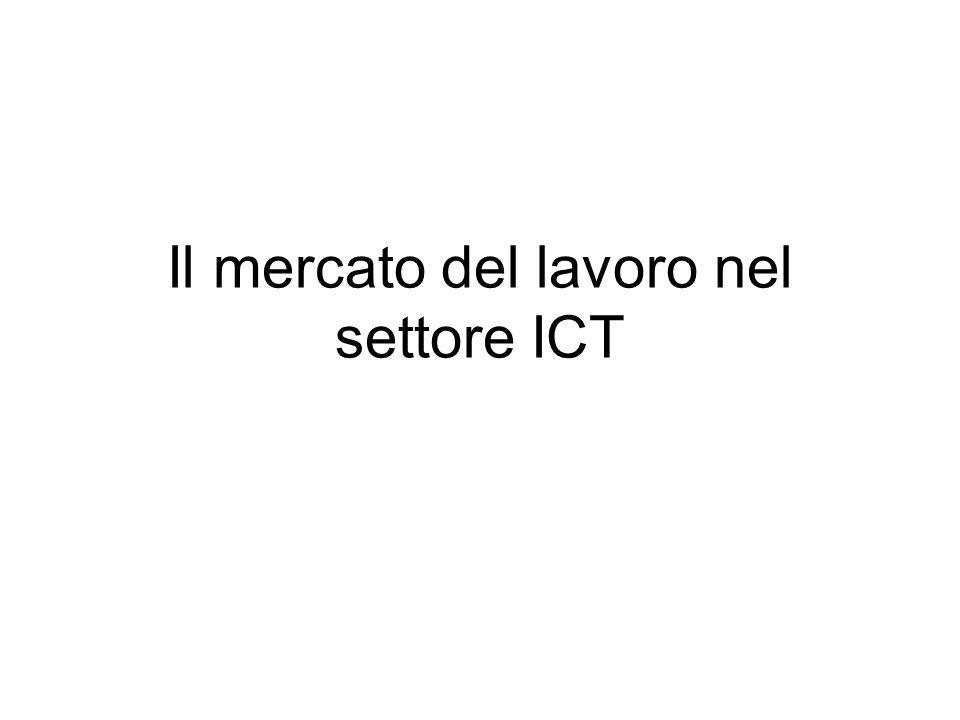 Il mercato del lavoro nel settore ICT