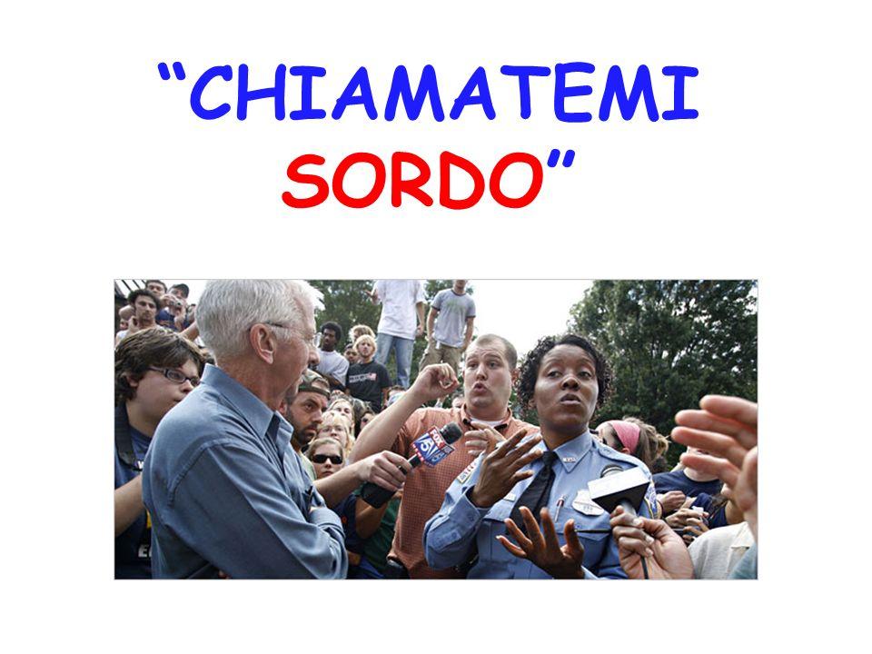 LXI Commissione del Senato il 9 febbraio 2006 ha approvato in via definitiva,allunanimità, il seguente testo, che modifica il termine SORDOMUTO in SORDO.