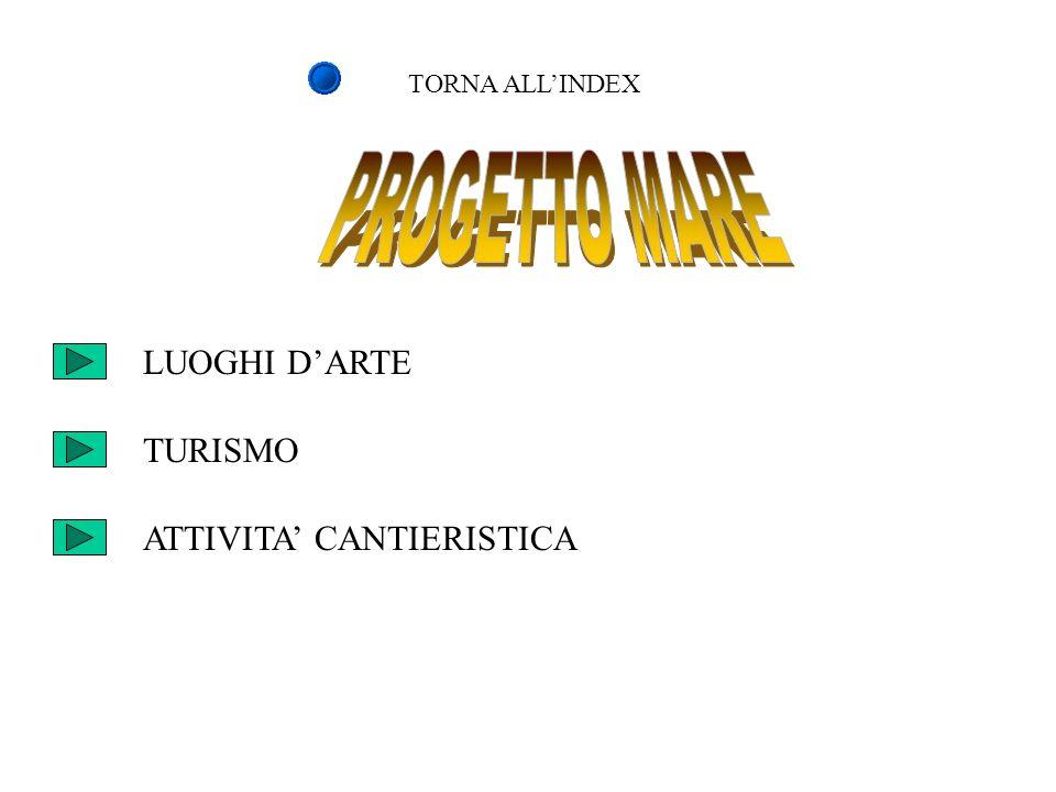TORNA ALLINDEX LUOGHI DARTE TURISMO ATTIVITA CANTIERISTICA