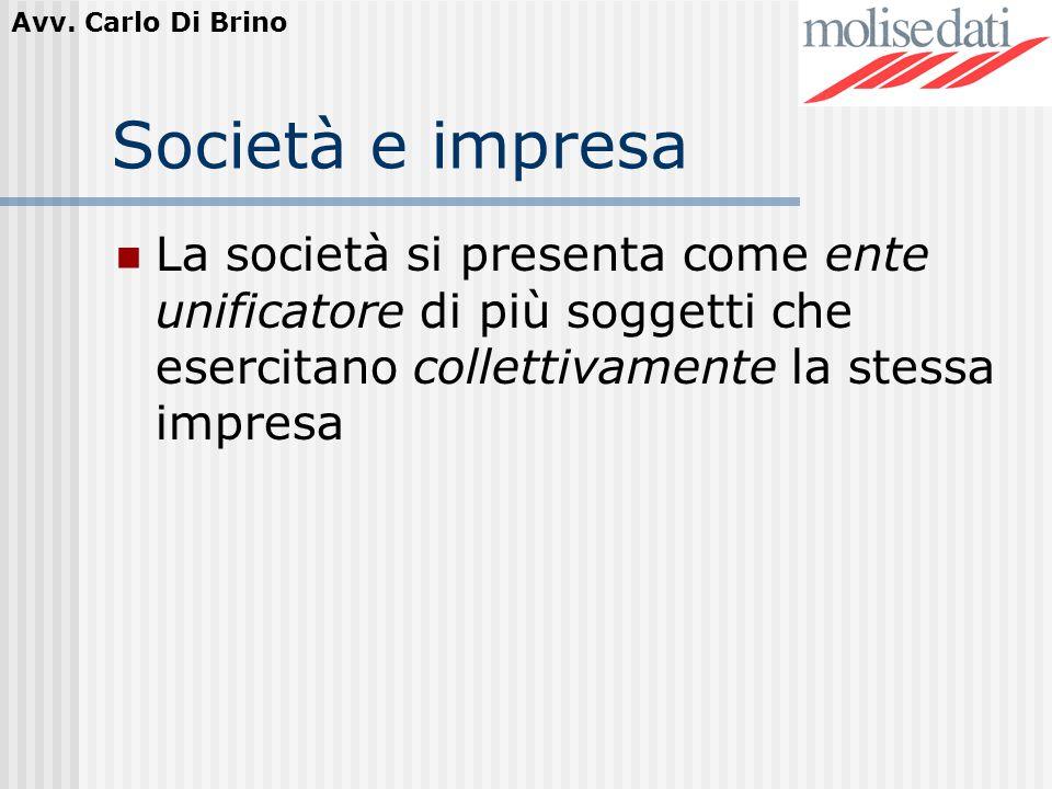 Avv.Carlo Di Brino Il Contratto di società Lart.2247 c.c.